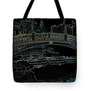 One Night In Saville Tote Bag