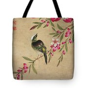 One Of A Series Of Paintings Of Birds And Fruit, Late 19th Century Tote Bag