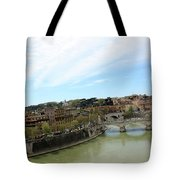 One Of Rome's Bridge Tote Bag