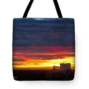 One Of The Prettiest Sunrises Tote Bag