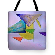 One Over Two Under Three Tote Bag