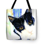 One Paw In Heaven Tote Bag