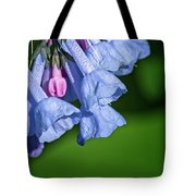 One Pink Bell Tote Bag