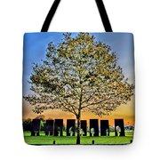 One Positive Eight Negatives Tote Bag