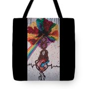One Pulse Tote Bag