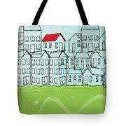 One Red Roof Tote Bag