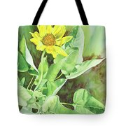 One Rooting In The Sun Tote Bag