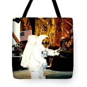 One Small Step For Man Tote Bag