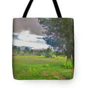 One Stormy Evening Tote Bag