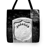 One Unknown Tote Bag
