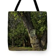 One Way Tote Bag