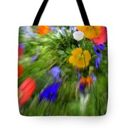 One Beautiful White Flower Tote Bag