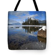 One Winters Morning Tote Bag