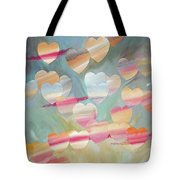 One With The Sky Tote Bag