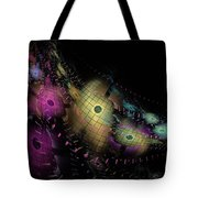 One World No.6 - Fractal Art Tote Bag by NirvanaBlues