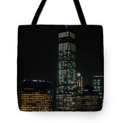 One World Trade Center In New York City  Tote Bag
