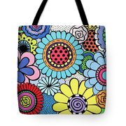 One Yellow Bloom Tote Bag