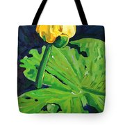 One Yellow Lily Tote Bag