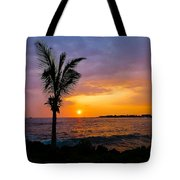 Oneo Bay Sunset Tote Bag