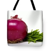 Onion And Chives Tote Bag