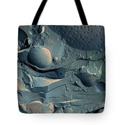 Onion Root Tip Cell, Freeze Fracture Tem Tote Bag
