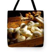 Onions Blancs Frais Tote Bag