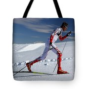 Online Winter Sports Equipment Tote Bag