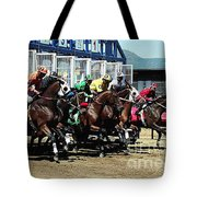 Only A Mile To Go Tote Bag