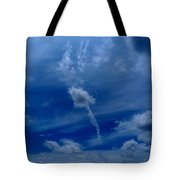 Only One Way Up Tote Bag
