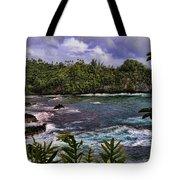 Onomea Bay Hawaii Tote Bag
