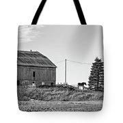 Ontario Farm 5 Bw Tote Bag