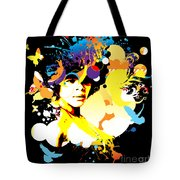 Onxy Doves - Bespattered Tote Bag
