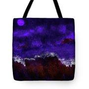 Oocean In The Moonlight  Tote Bag