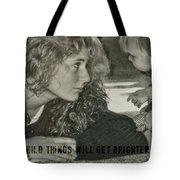 Ooh Child Quote Tote Bag
