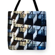 Tiered Balconies Tote Bag