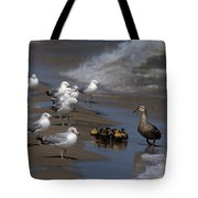 Ducklings In Trouble - Oops Not Into Diversity Tote Bag