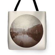 Oostersingel With Aangemeerde Ships In Leeuwarden, Anonymous, 1897 Tote Bag