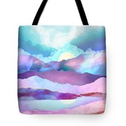 Opal Mountains Tote Bag