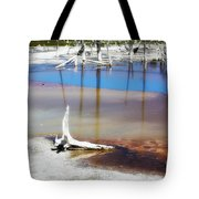 Opalescent Pool Yellowstone Np Tote Bag
