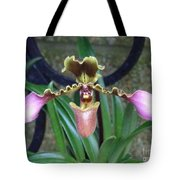 Open Arms Orchid Tote Bag