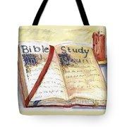 Open Bible Tote Bag