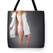 Open Coat Tote Bag