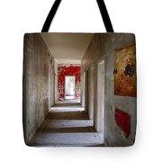 Open Doors - Abandoned Building Tote Bag