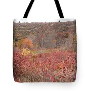 Open Field View Tote Bag