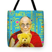 Open Heart, Open Mind - Sky Blue Tote Bag