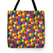 Open Hexagonal Lattice I Tote Bag