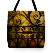 Open Iron Gate Tote Bag