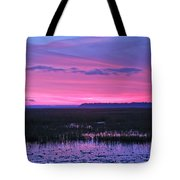 Open Marsh Tote Bag