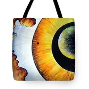 Open Mind. Door To Eternity Tote Bag
