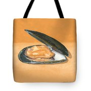 Open Mussel Tote Bag